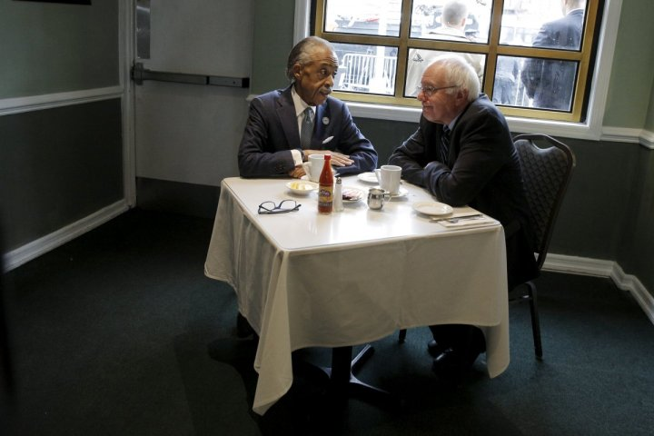 democratic-us-presidential-candidate-bernie-sanders-meets-with-the-rev-al-sharpton-at-sylvias-restaurant-in-the-harlem-section-of-new-york-february-10-2016-sanders-won-the-new-hampshire-democratic-president