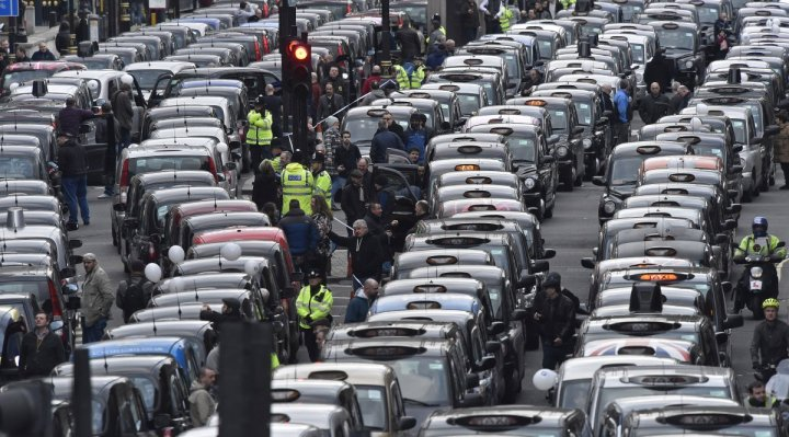 london-cab-drivers-protest-against-uber-in-central-london-on-february-10-2016