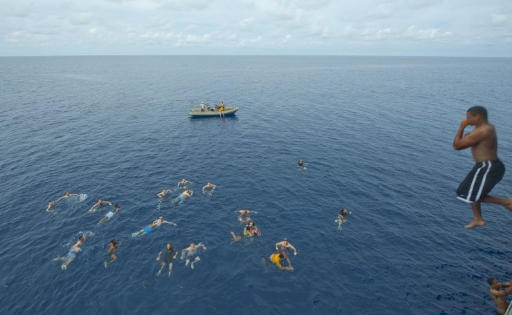 sailors-from-us-7th-fleet-flagship-uss-blue-ridge-participate-in-a-swim-call-after-a-crossing-the-line-ceremony